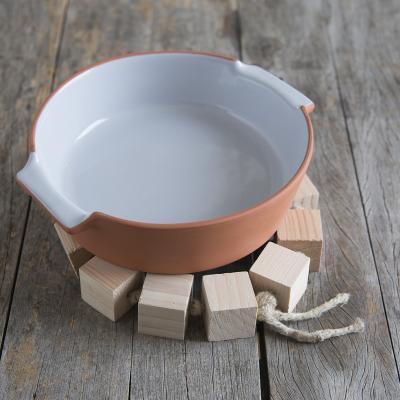Dessous de plat cubes en bois