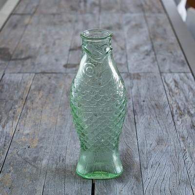 bouteille poisson en verre 2