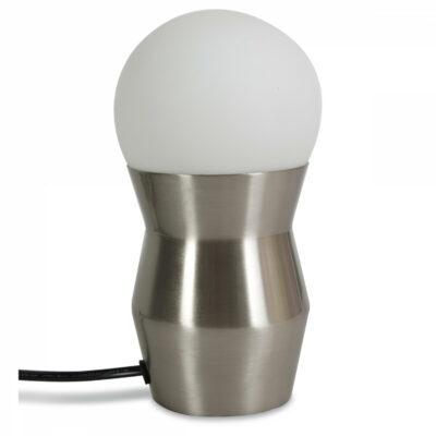 Lampe tactile métal
