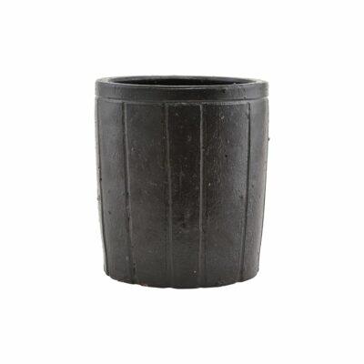 Pot noir House Doctor céramique