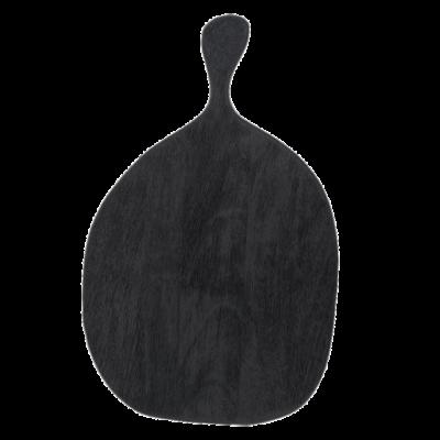 Planche en bois noir plateau