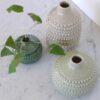 Vase pointillé GARDEN TRADING