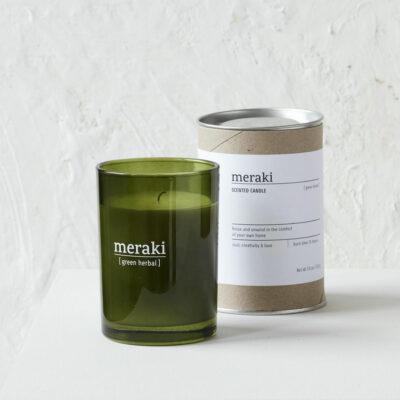 Bougie parfumè herbe